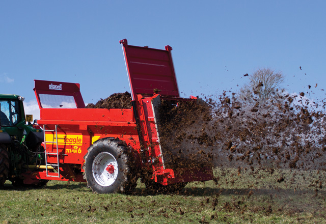 Muck Spreaders Hover