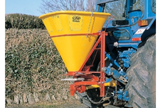 Plastic Hoppers on Fertiliser Spreaders